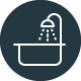 spa shower icon